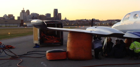 Air Bag Recovery at the St Paul Airport